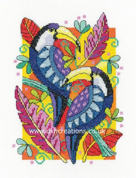 Toucans Cross Stitch Kit
